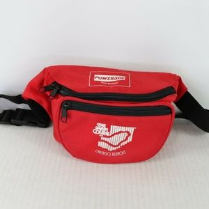 Vintage Powerade Chicago Spell Out Fanny Pack Bag